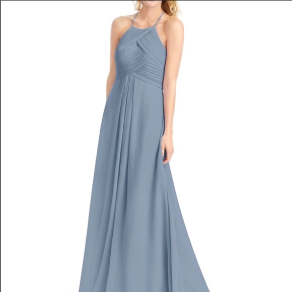91334a555f Azazie Dresses   Skirts - Azazie Dusty Blue dress